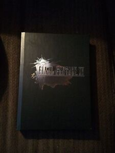 Final fantasy 15 official guide book (hard cover)