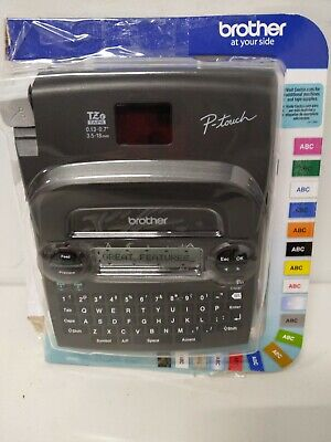 Brother P-touch Label Maker Pt-1890c Newopen - No Tze Tape Tested