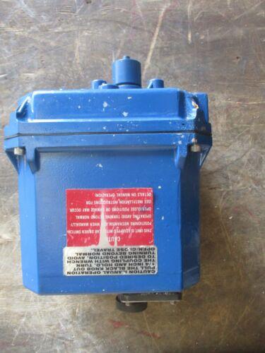 RCS ELECTRIPOWER 1 BRAN142AVAA ACTUATOR, 120 V, #920320J USED
