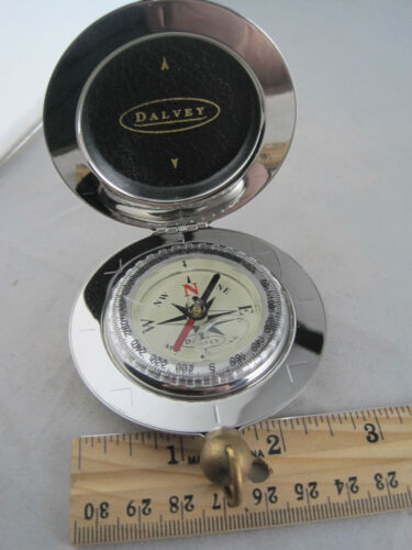 Dalvey Classic Stainless Steel Compass Scotland - Engraved LFD