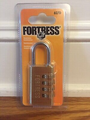 Master Lock Fortress Padlock Set Your Own Combination Lock 627d