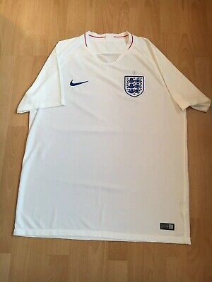 Mens Nike England Football TShirt 2018 UK XL