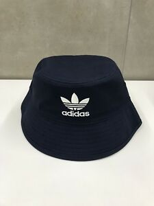 28c872e2d98d Adidas 90s Originals Trefoil Bucket Mens Headwear Hat - NAVY One Size