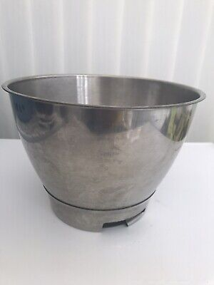 KENWOOD CHEF STAINLESS STEEL MIXING BOWL - @PERFECT FOR KEEPING DOUGH COOL@