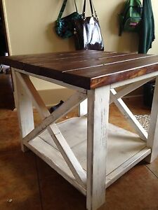 Set of end tables - brand new!!