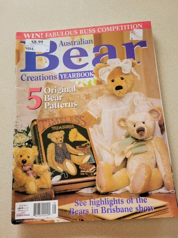 Australian Bear Creations Magazine Vol 8 No 6_Intact_Free Post to AUS