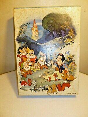 Vintage 1973 Springbok Children's Jigsaw Puzzle Snow White Walt Disney 100 piece