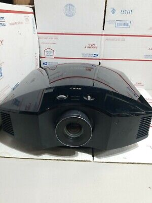 Sony Model VPL-HW40ES SXRD Home Theater Projector (NEED NEW  BULB) READ DETAILS