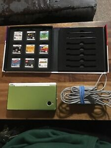 Nintendo dsi with 9 games
