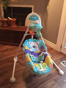 Fisher Price Precious Planet Cradle n' Swing