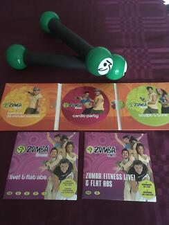 Zumba fitness dvds with toning sticks