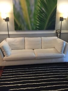 Ikea Stolkholm White Couch