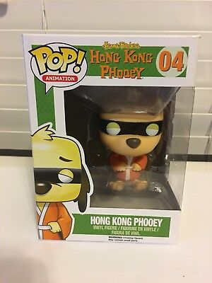 Funko Pop Animation Hong Kong Phooey  04 New In Box