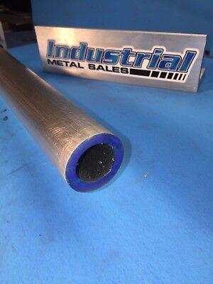 1-12 Od X 12-long X 14 Wall 6061 T6511 Aluminum Round Tube-1.5 Od X .250
