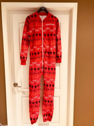 Captain Morgan Adult Red Onsie Large Unisex NEW