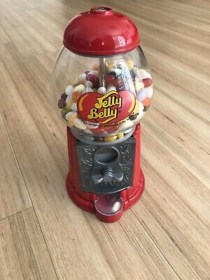 JELLY BELLY BEAN VENDING MACHINE RETRO SWEETS DISPENSER GUMBALL COIN OPERATED