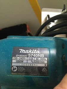 185mm Makita power saw Stuart Park Darwin City Preview