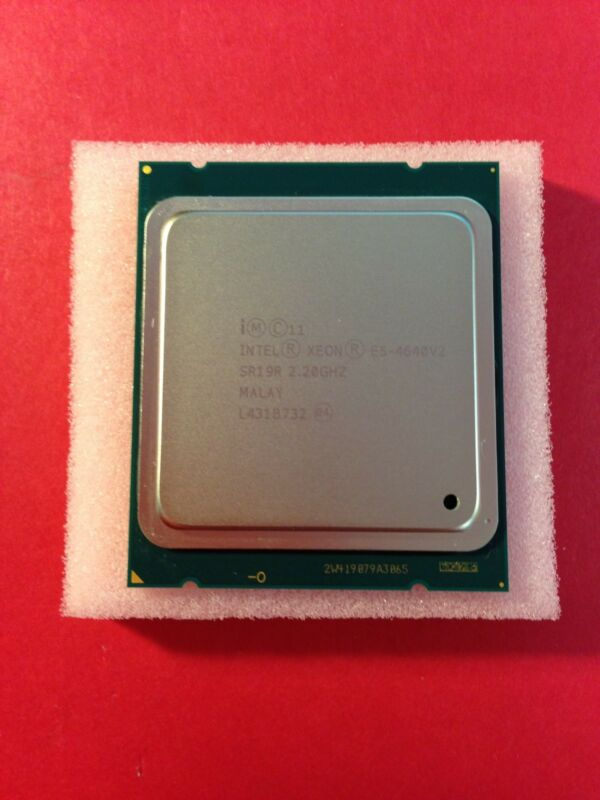 Intel Xeon E5-4640v2 2.2ghz 20mb 8gt/s 10 Core Fclga2011 Processor Cpu Sr19r****