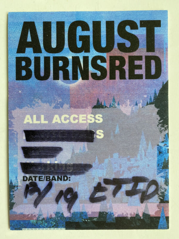 August Burns Red All Access AAA Sticky (Unused)