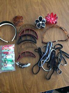 Lot of random hair accessories
