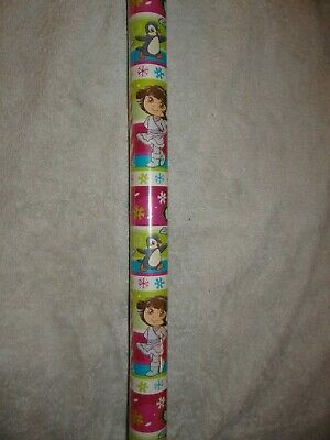 DORA THE EXPLORER WRAPPING PAPER ROLL GIFT WRAP ANY OCCASION 20 SQ FT NEW LAST 1 ()