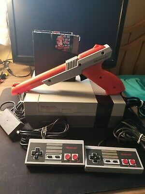 Nintendo Entertainment System NES Action Set System Console Mario Bros Duck Hunt