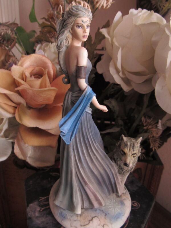 Jessica Galbreth  WOLF MAIDEN Figurine MUNRO makers of Faerie Glen Fairies BNIB