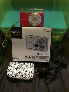 Sony Cyber-shot Digital Camera Greenslopes Brisbane South West Preview