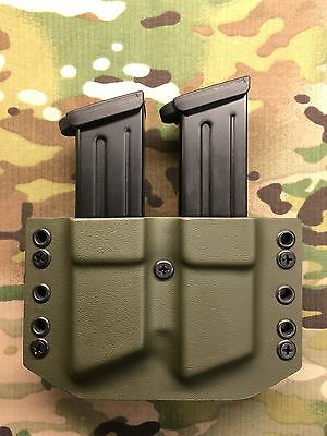 OD Green Kydex Dual Magazine Carrier for HK H&K VP9 P30  for sale  Rockwell