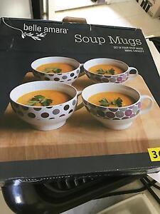 Soup bowl set Doonside Blacktown Area Preview