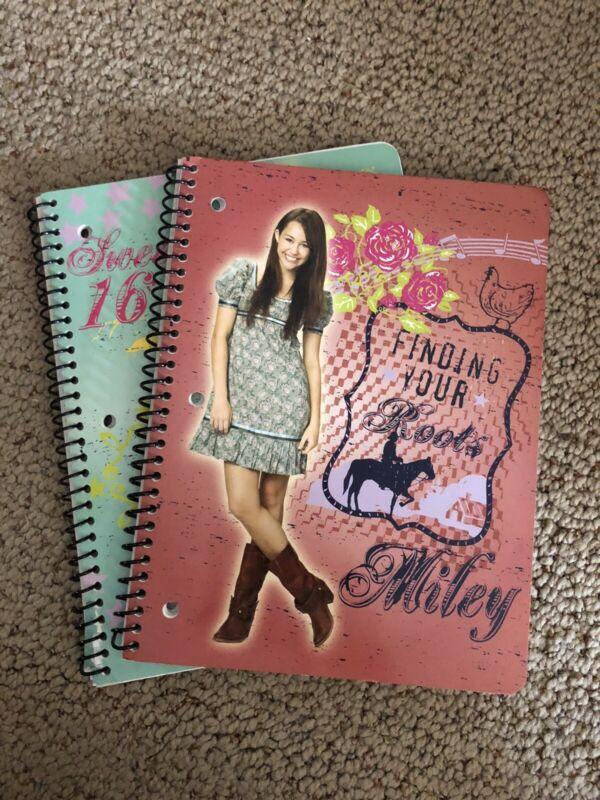 Hannah Montana Notebooks- 2 For $3!