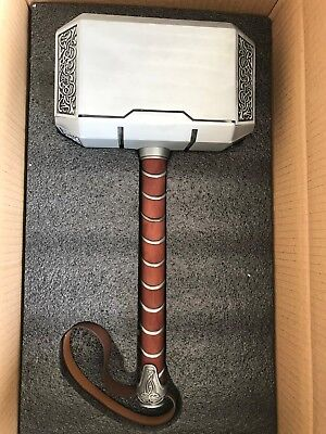 US STOCK 1:1 Full Metal Thor Hammer The Avengers Replica Prop Mjolnir Entertainment Memorabilia