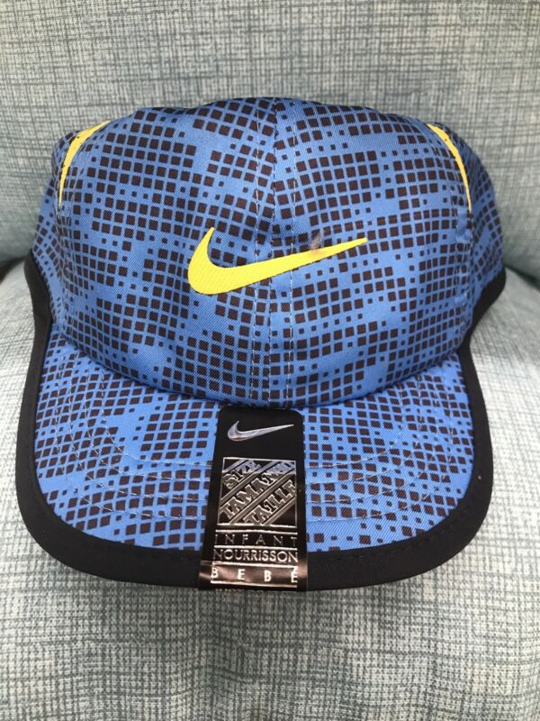 Baby Boy's Nike Infant Featherlight Dri-fit Cap/Hat - 12/24 months - Blue