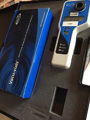 Chemetrics Chlorine Single Analyte Meter I-2001 With Vacu-vials