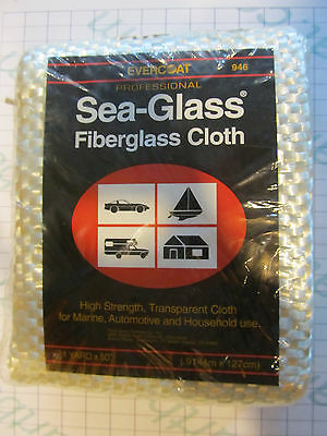 946 Evercoat Professional Sea-Glass Fiberglass Cloth 1 Yard x 50""