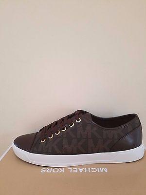 MICHAEL Michael Kors  Women's City Sneaker MK Signature Size 8 NIB