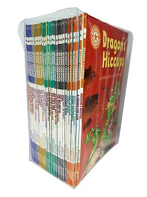 Reading Champion Collection 30 Books Dragon Hiccups A Crown For Lion Robot NEW