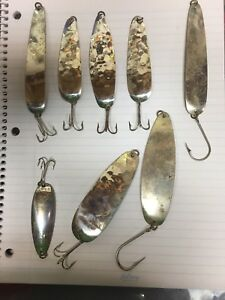 Sutton's original vintage ultra thin fishing lures
