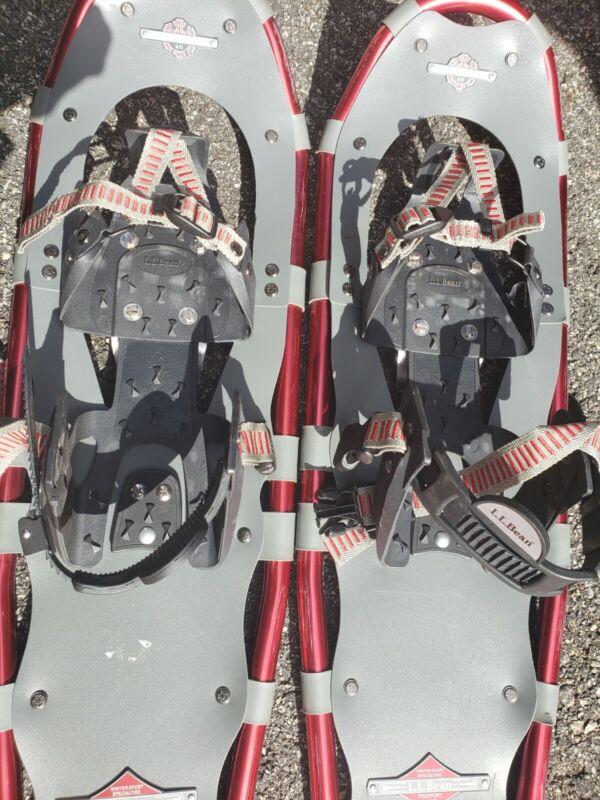 LLbean winter walker 26 snowshoes