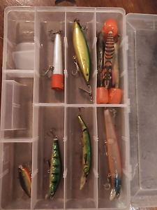 Never Used Various Rattler Tackles in Box and 3mtr Diver Unopened Kallangur Pine Rivers Area Preview
