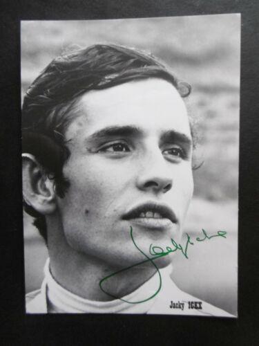 Jacky Ickx Autogramm signed 10x15 cm Postkarte s/w
