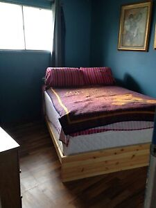Quiet, tidy NE home has furnished upstairs room available