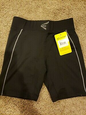 New Easton Girls Youth Extra Protection Sliding Short,YL Black M7 FP youth (Extra Protective Sliding Short)