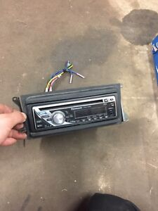 Panasonic car stereo with aux