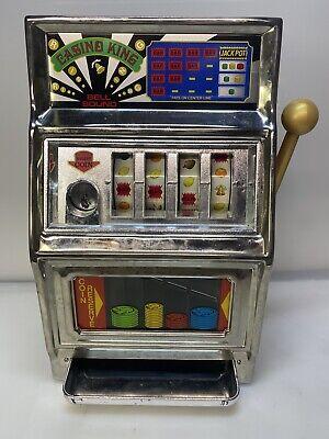 Vintage Waco Casino King Slot Machine Bank Japan- See Description