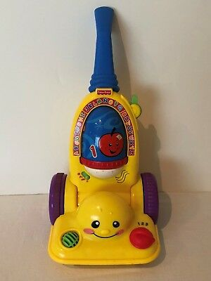 Fisher Price Laugh and Learn Learning Vacuum Cleaner Music Alphabet