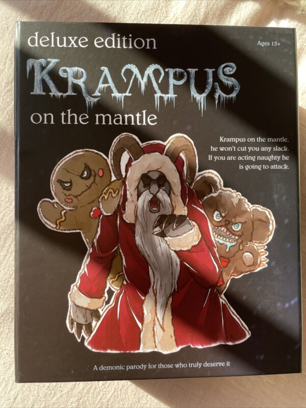Krampus On The Mantle Deluxe Edition FYE Exclusive * In Hand* Fast Shipping