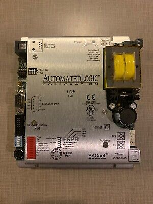 Automated Logic Lge Ethernet Router Bacnet Module Used