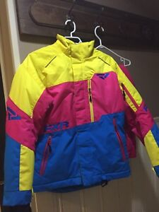 FXR Snowmobile coat and pants