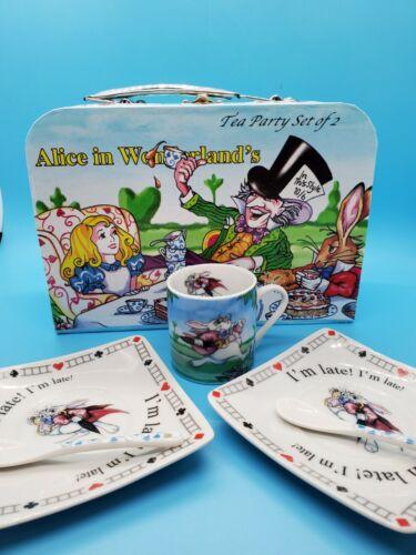 PAUL CARDEW ALICE IN WONDERLAND TEA PARTY SET